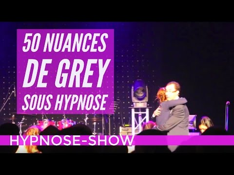 Hypnotiseur spectacle  :  50 nuances de Grey Alsace