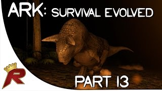 "Ark: Survival Evolved Gameplay - Part 13: ""Nighttime Carnotaurus Attack!"" (Early Access)"