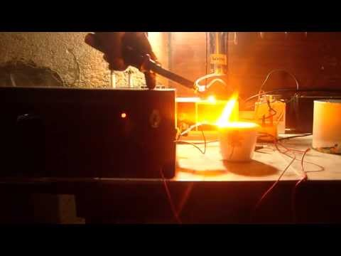 Burning Salt Water Generator WATER FUEL