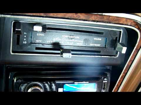 f250 radio wiring diagram for a car trailer plug 1979 ford bronco air conditioner check and exhaust - youtube