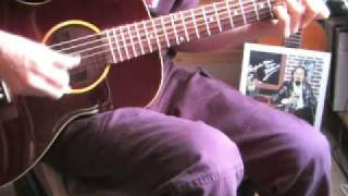 Sidewalk Blues - Acoustic guitar instrumental - Jelly Roll Morton