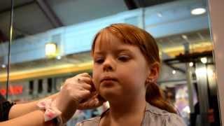 Miss Alli Gets Her Ears Pierced!