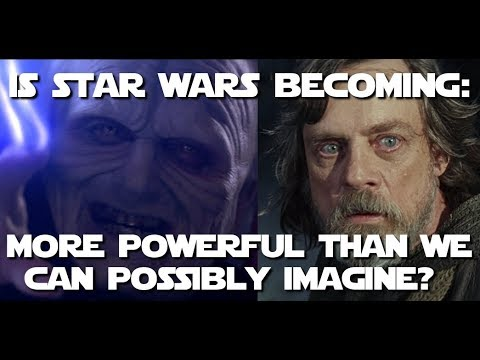 Unlimited Power! Luke is afraid... should we be too? (Star Wars Discussion )