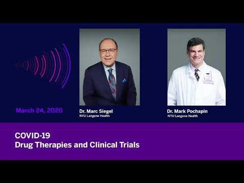 COVID-19: Drug Therapies and Clinical Trials