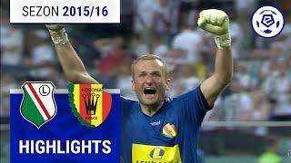 Legia Warszawa - Korona Kielce 1:2 [skrót] sezon 2015/16 kolejka 06