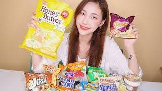 Trying Filipino Snacks! 필리핀 과자 먹방!
