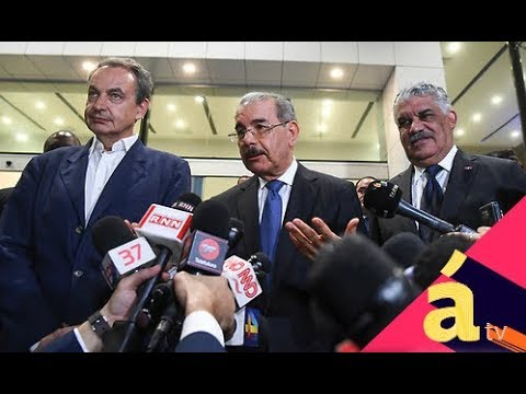 Negociaciones oposición/gobierno de Venezuela en RD