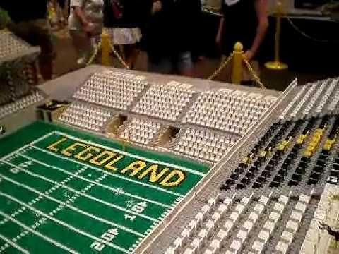 Lego Football Stadium - YouTube