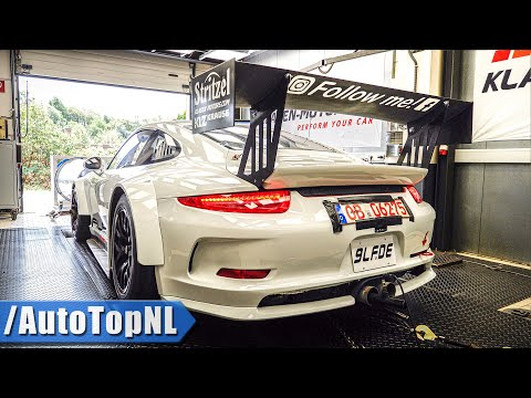 Porsche 911 GT3R HEAVENLY! SOUND on DYNO by AutoTopNL
