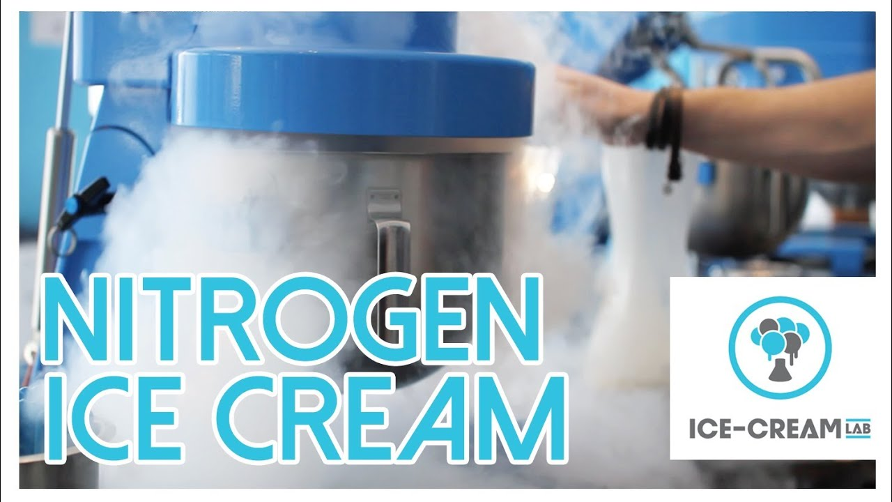 Ice Cream Lab (Liquid Nitrogen Ice Cream) - YouTube