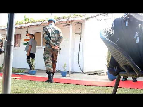 In Haiti, Inner City Press Covered UNSC Visit to Indian Troops, Talk of Use of Force on Protesters