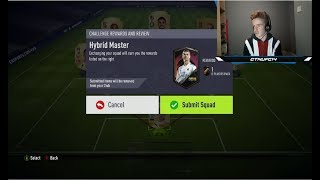 THE CHEAPEST WAY TO COMPLETE THE HYBRID MASTER SBC!!! - FIFA 18 ULTIMATE TEAM