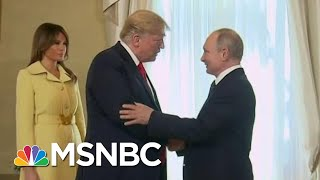 Alarm Rises As President Trump Behavior Aligns With Putin's Fondest Wishes | Rachel Maddow | MSNBC