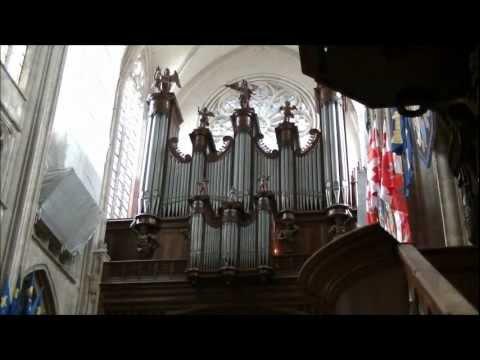 Trois Essais - Introduction sur l'orgue du Sainte-Croix par Marinus (Rien) van Binnendijk