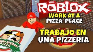 ¡TRABAJO EN UNA PIZZERIA! ROBLOX: LAVORARE IN UN POSTO DI PIZZA