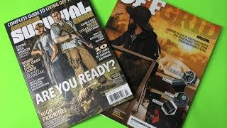 Do You Read American Survival Guide and Off Grid Magazines?