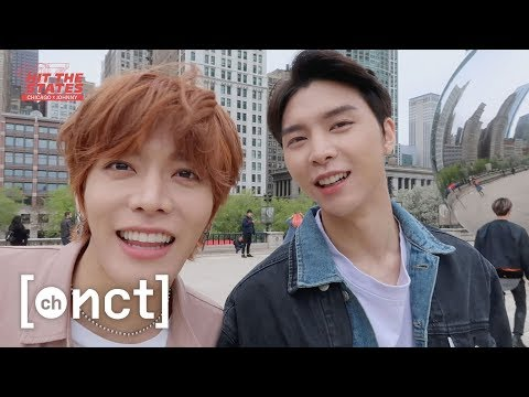 JOHNNY X CHICAGO : Finally landing in my hometown! (Feat. TY & YT)   NCT 127 HIT THE STATES