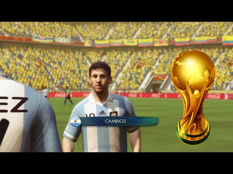 2014 Fifa World Cup - Colombia Vs Argentina - Eliminatorias Rumbo al Mundial