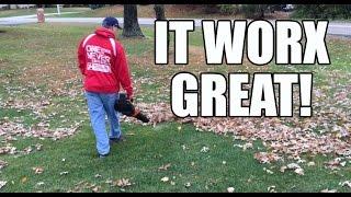 56V WORX AIR TURBINE Cordless Leaf Blower