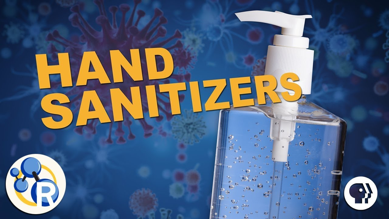 How Do Hand Sanitizers Work Youtube