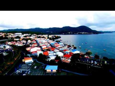 Vue drone bebop 2 HD Diamant Sainte Luce Martinique