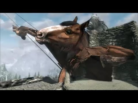 Skyrim - What Happens If You Kill Or Mess With The Driver At The Beginning? thumbnail