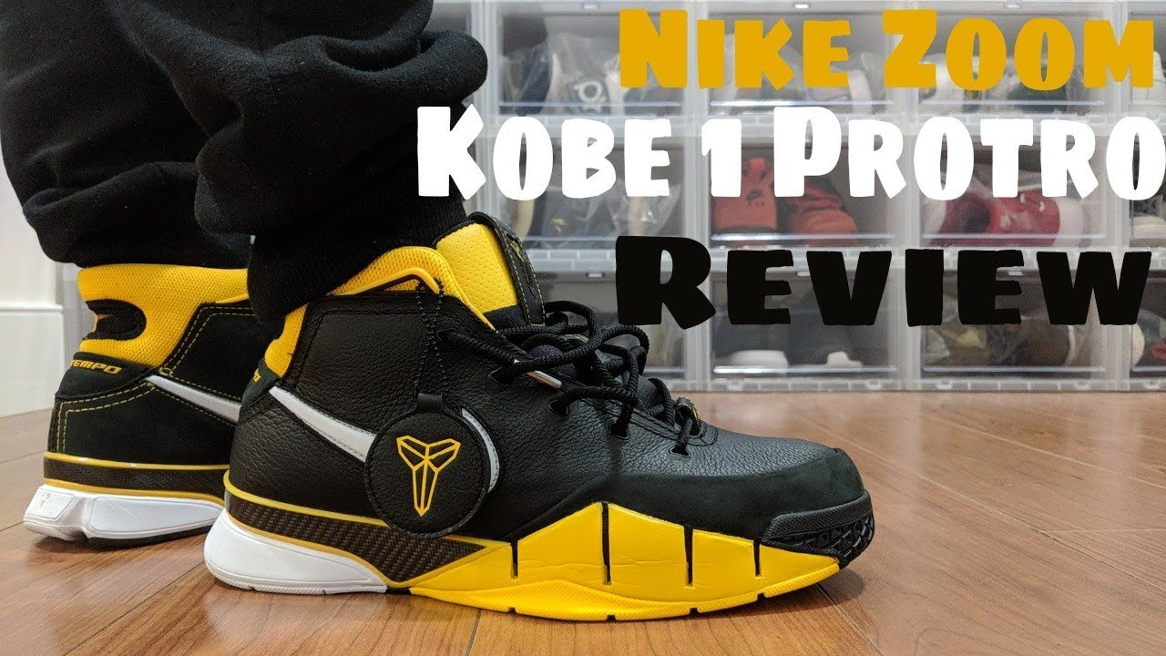new product 35e3e c4141 Nike Zoom Kobe 1 Protro On Feet Review