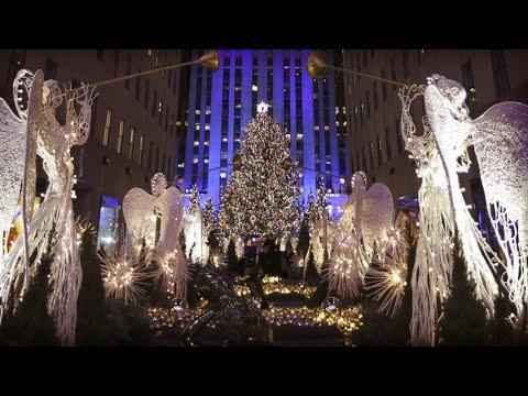 Albero Di Natale New York.Si Accende L Albero Al Rockefeller Center Di New York E La Magia Del Natale Ha Inizio