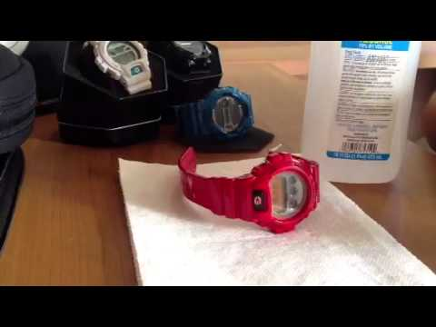 How to clean a g-shock watch