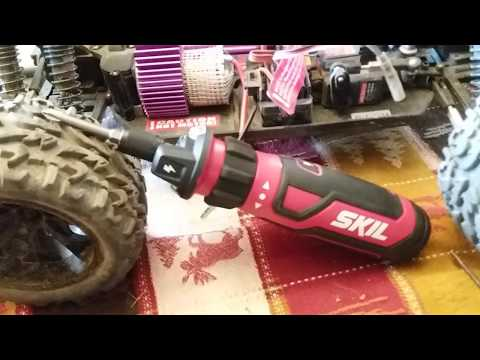 Skil battery powered screw driver review