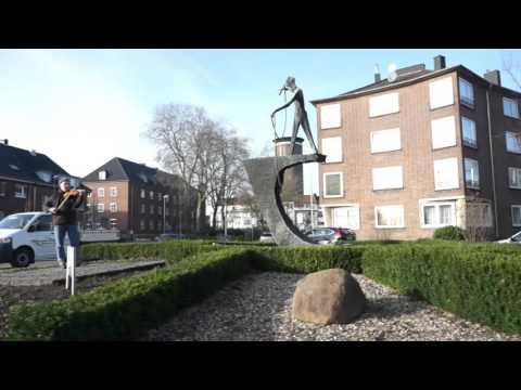 Kolletiv Stadtstreicher - Aktion: Eine Melodie für Peter Minuit