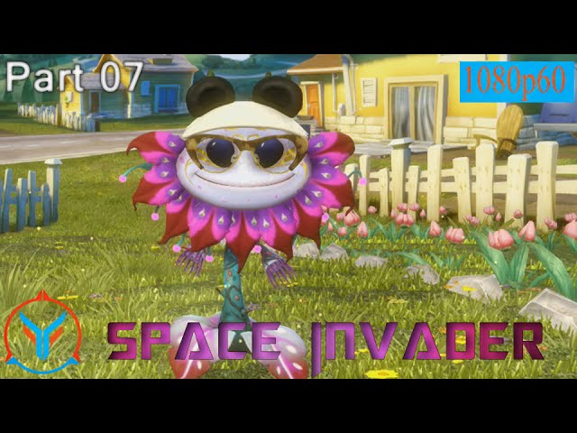 Plants Vs Zombies Garden Warfare Space Invader - Alien FLower - Gameplay Part 7