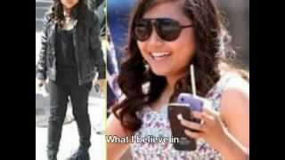 Charice on Here Comes The Boom - Holly Holy by Neil Diamond (Lyrics)