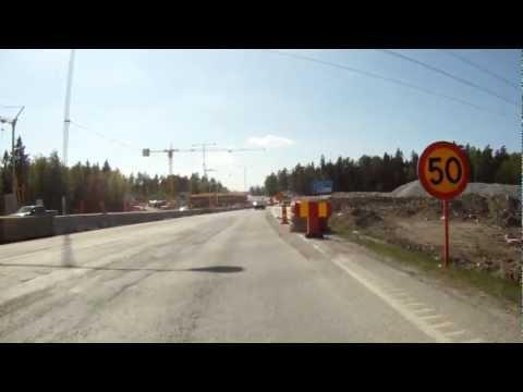 Bike in Stockholm - Highway fast exit