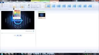 Como Fazer uma intro pelo windows live movie maker