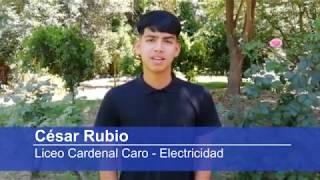 Revista Educar Julio 2020 - César Rubio, Liceo Cardenal Caro, Electricidad