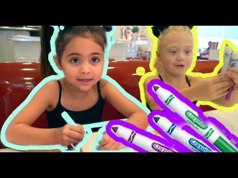 3 Marker Challenge with BARBIES!