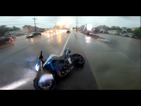 Extremely Close Calls, Road Rage, Crashes, Angry People & Scary Motorcycle Accidents [EP #94]