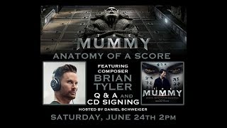 "Brian Tyler - ""The Mummy"" 2017 - Q & A Panel"