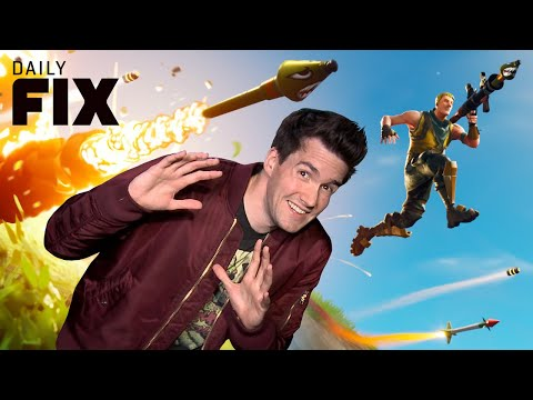 Fortnite Removes Controversial Weapon - IGN Daily Fix