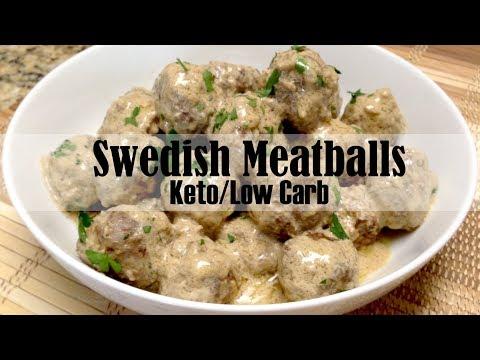 Keto Swedish Meatballs Low Carb & Keto Diet