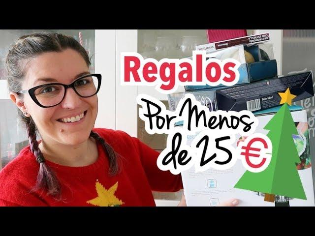REGALOS POR MENOS DE 20 EUROS | Ideas Regalos Navidad