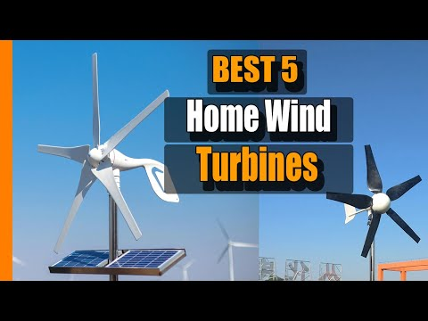 Home Wind Turbine: 5 Best Home Wind Turbines in 2021