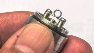 how to achieve that intense flavour with the quasar t rebuildable tank atomizer