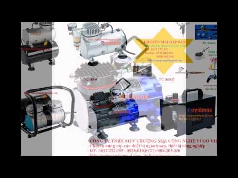 máy nén khí mini dùng cho airbrush