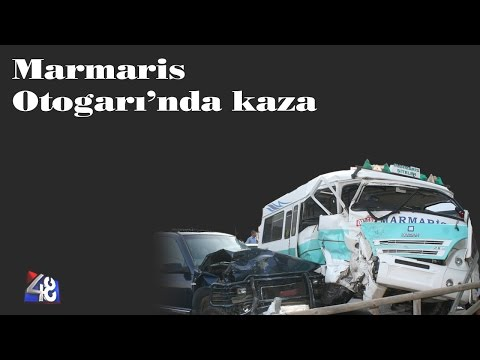 Marmaris Otogarı'nda Kaza