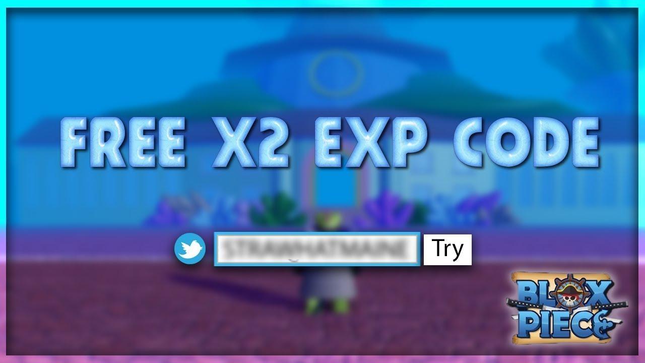 Blox Piece Nhận Tất Cả Code X2 Exp Free Pikaroblox Gaming