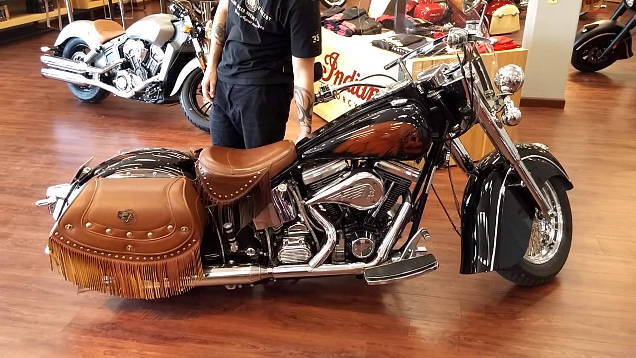 2000 Indian Chief With Custom Paint And Air Shock