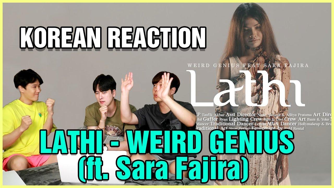 KOREAN REACTS Weird Genius - Lathi (ft. Sara Fajira)   Analisis oppa yg pertama kali lihat Lath
