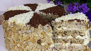 Торт НАДЕЖДА. Домашний рецепт,вкусный и простой